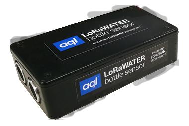 aql LoRaWater bottle sensor unit