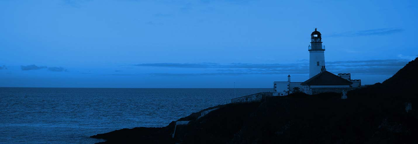 Coastal view, Maughold lighthouse